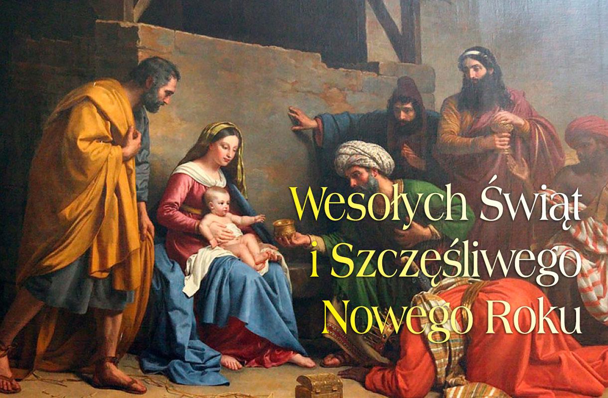Życzenia na Święta Bożego Narodzenia i Nowy Rok